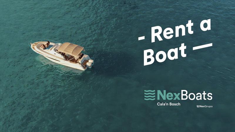 Rent A Boat Cala'n Bosch