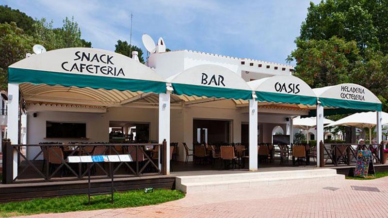 Bar Oasis, Cala Galdana, Menorca