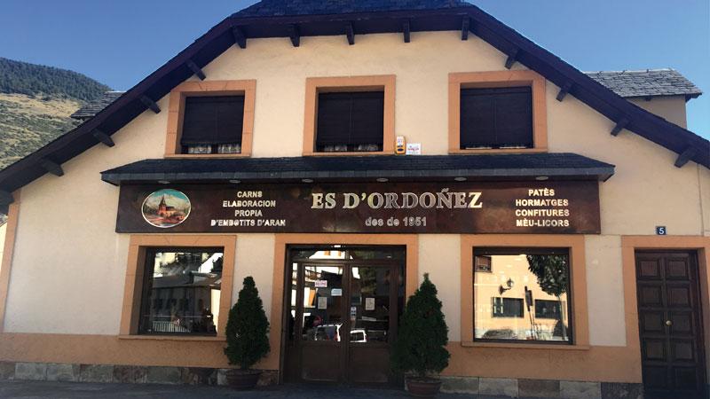 Carniceria Es D'ordoñez, Val D'Aran