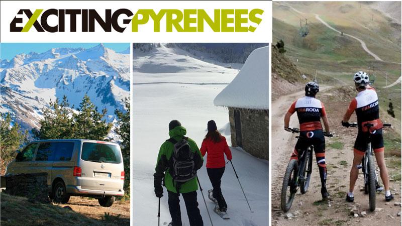 Exciting Events Pyrenees Raquetas, Rutas Btt