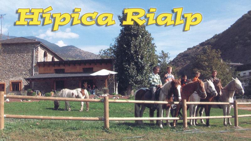 Hipica Rialp. Excursions A Cavall Pallars Sobirà