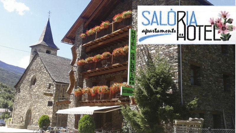 Hotel Restaurant Saloria, Alins, Pallars Sobirà